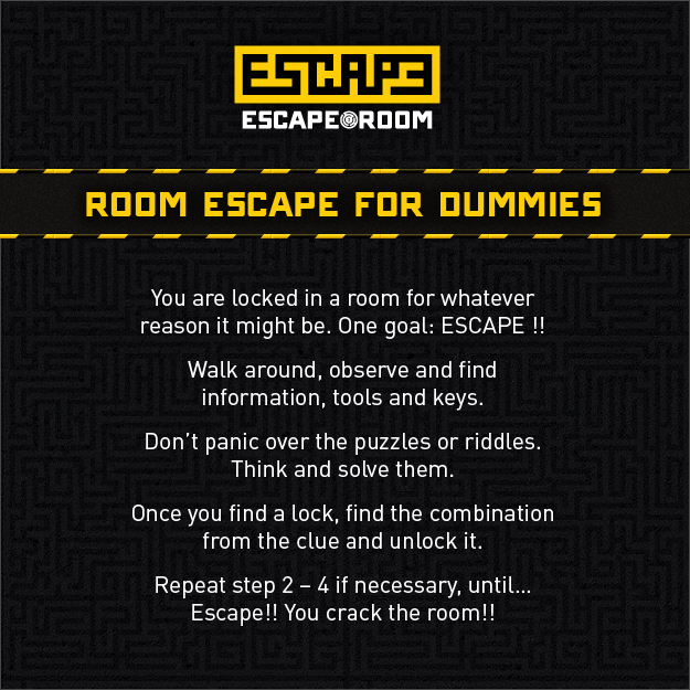 The Phantom Escape Room